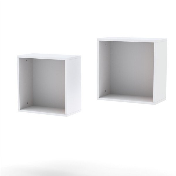 Chelsey Decorative Wall Cube (Set of 2) by Zipcode Design