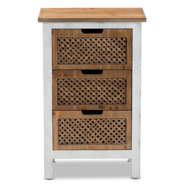 Buckelew 3 Drawer Accent Chest By Bay Isle Home