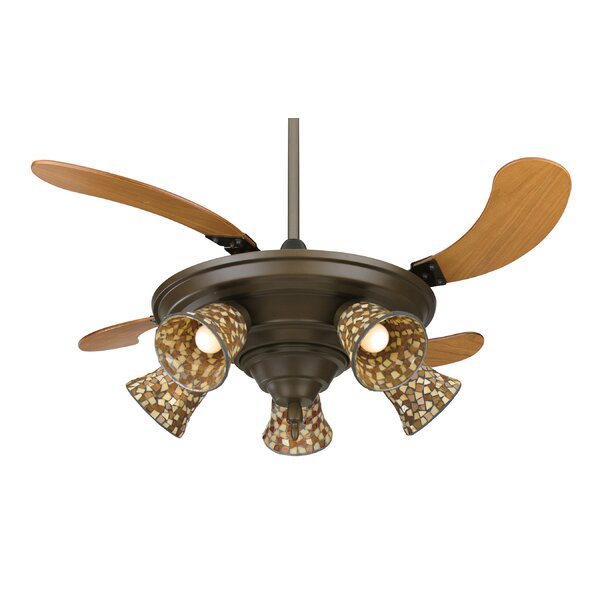 43 Air Shadow 5-Blade Ceiling Fan with Remote by Fanimation