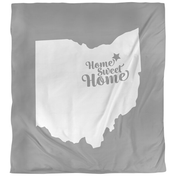 Home Sweet Akron Duvet Cover
