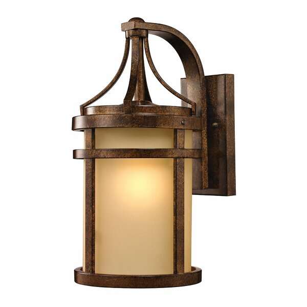 Crespin 1-Light Outdoor Wall Lantern by Bloomsbury Market