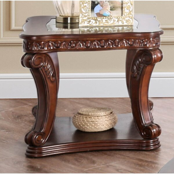 Rowlett End Table by Astoria Grand