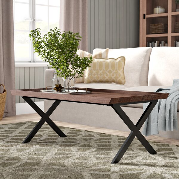 Kirti Rectangular Coffee Table by Gracie Oaks
