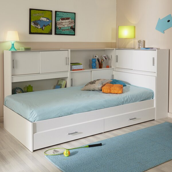Snoop Twin Bed with Storage by Parisot