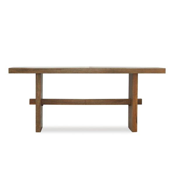 Burkhardt Mango Wood Dining Table by Foundry Select