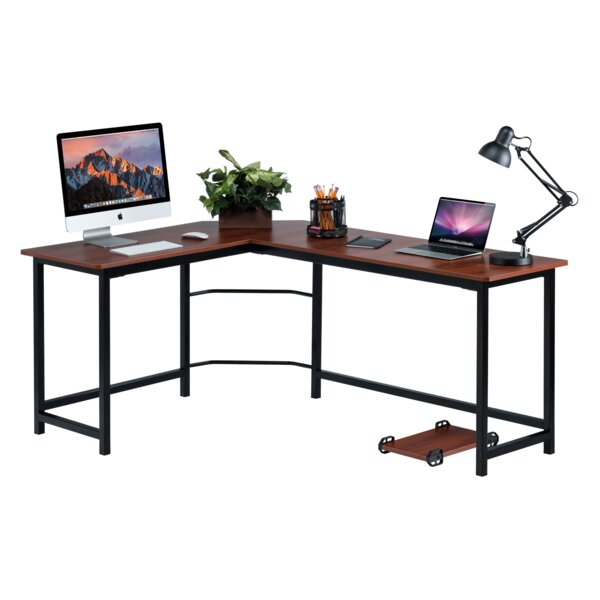 Ohioville Stylish L-Shaped Computer Desk by Red Ba