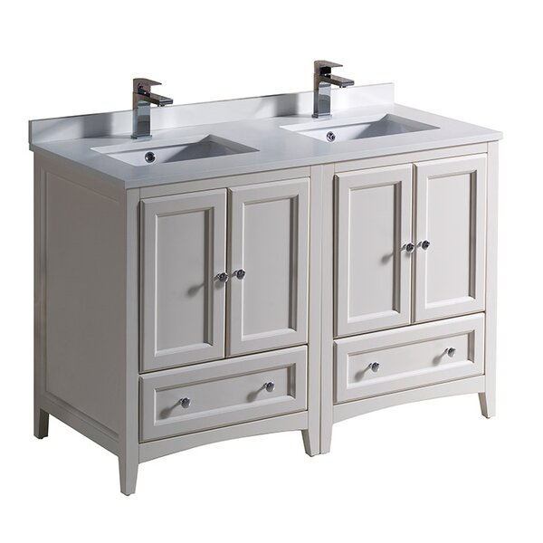 Oxford 48 Double Bathroom Vanity Set by Fresca