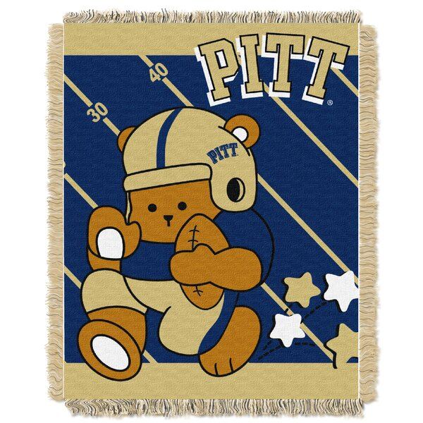 Collegiate Pittsburgh Baby Blanket by Northwest Co.