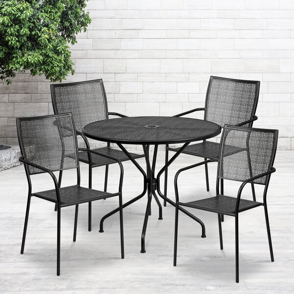 Gerardi 5 Piece Dining Set by Zipcode Design