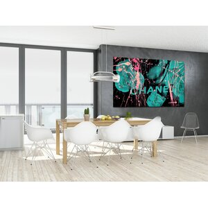 Garden Of Eden Graphic Art on Canvas by Fluorescent Palace