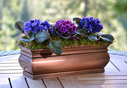 Stainless Steel Planter Box by H. Potter