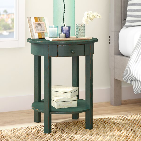 Beauford 1 Drawer End Table by Beachcrest Home
