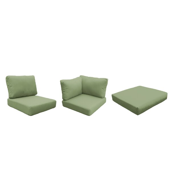 Fairfield Indoor/Outdoor 18 Piece Lounge Chair Cushion Set By Sol 72 Outdoor