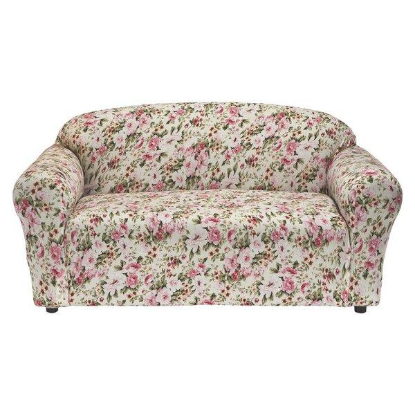 Lincoln Box Cushion Loveseat Slipcover by Latitude Run