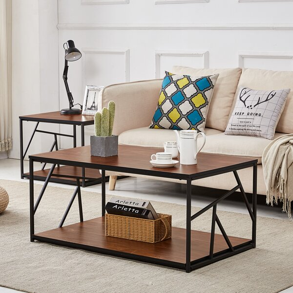 Patricia 2 Piece Coffee Table Set by Union Rustic Union Rustic