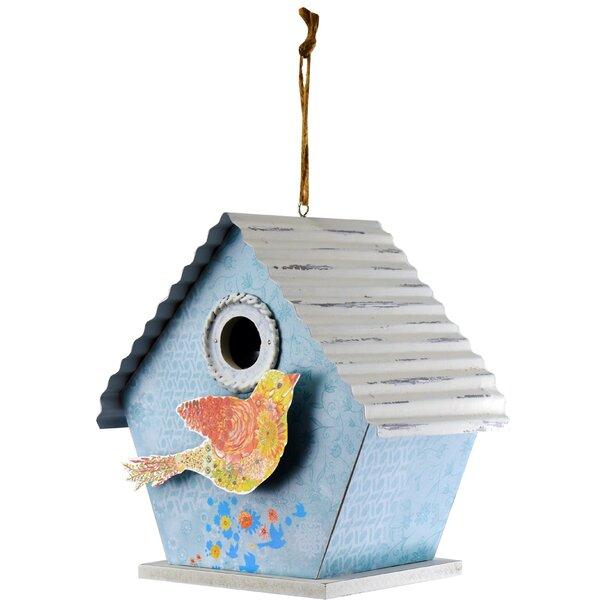 Hummingbird 6 in x 9 in x 8.5 in Birdhouse by Red Carpet Studios LTD