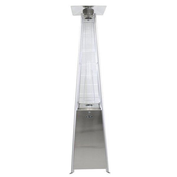 Dyna-Glo Pyramid Flame 42,000 BTU Propane Patio Heater by Dyna-Glo