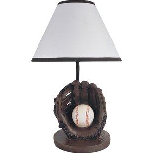 Baseball lamps wayfair sports baseball 16 table lamp aloadofball Images