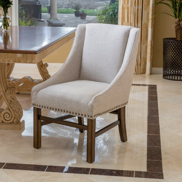 Modern Wokingham Upholstered Dining Chair By Alcott Hill Design