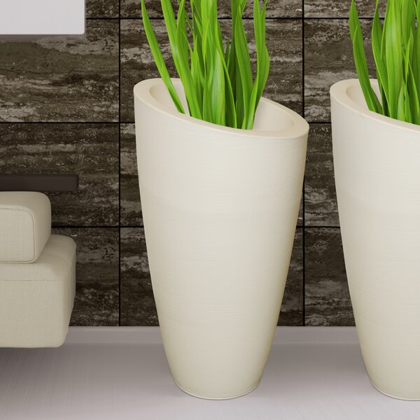 Modesto Plastic Pot Planter by Mayne Inc.