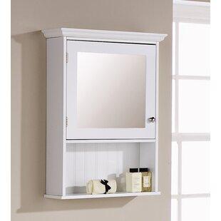 Hampton 67x47cm Surface Mount Mirror Cabinet