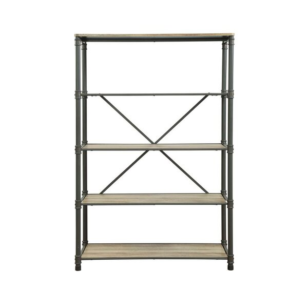 Croker Industrial Etagere Bookcase by 17 Stories 17 Stories