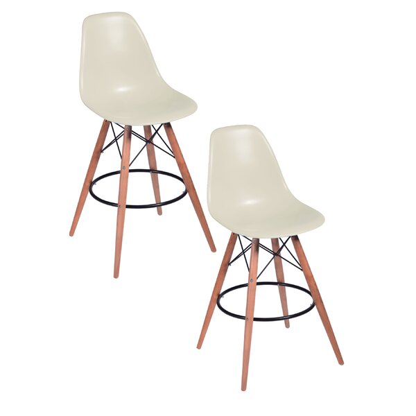 Della Bar Stool (Set of 2) by Pangea Home
