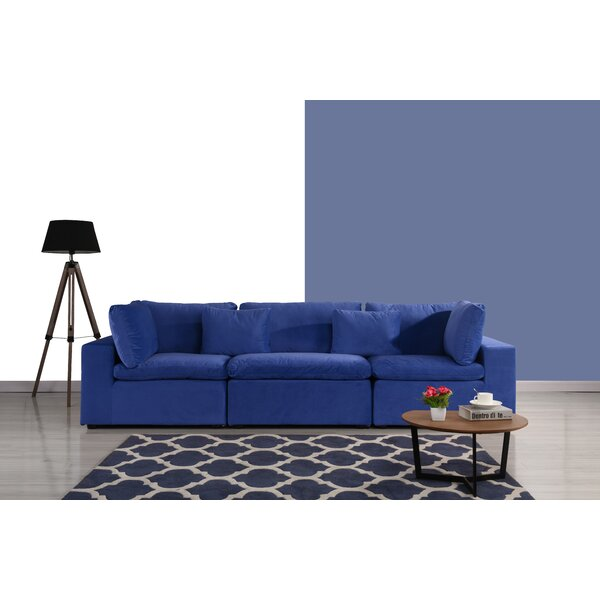 Modern Collection Newnan Sofa by Ebern Designs by Ebern Designs