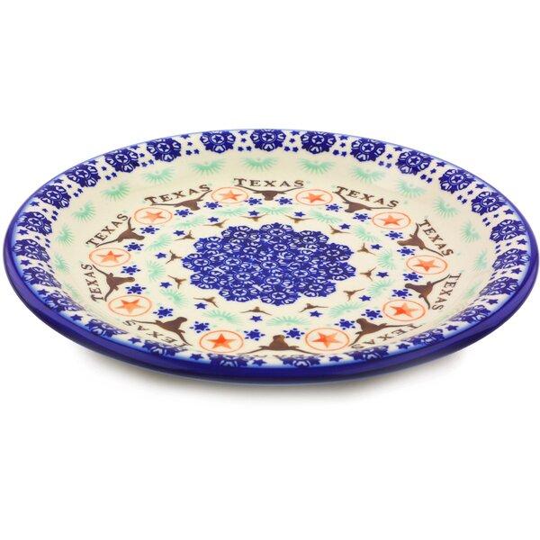 Polish Pottery 10 Dinner Plate by Polmedia
