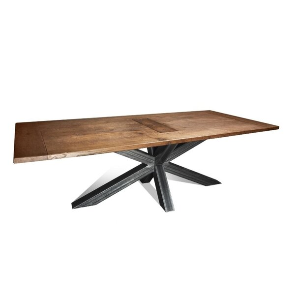 Nickel L Dining Table by Foundry Select
