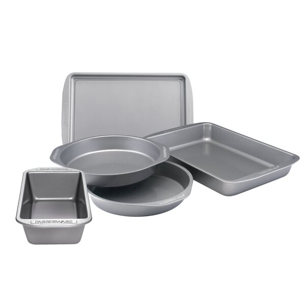 5 Piece Nonstick Bakeware Set by Farberware