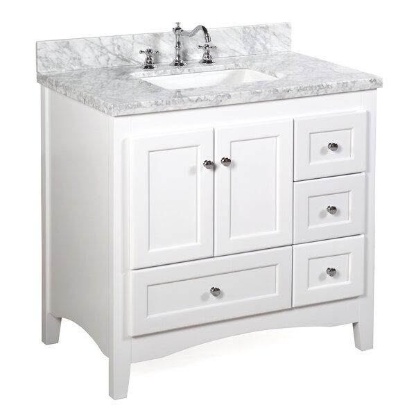 Abbey 36 Single Bathroom Vanity Set by Kitchen Bat