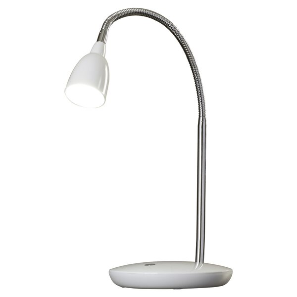 Oatfield LED 17 Desk Lamp with Bowl Shade by Wroug