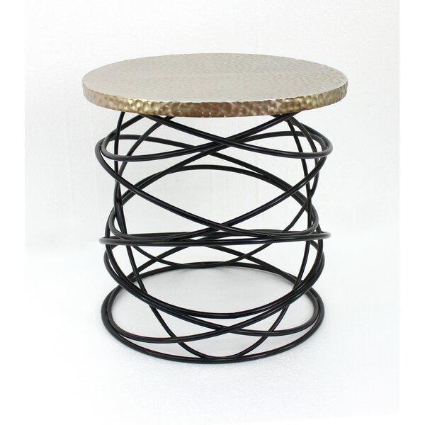 Taconite End Table by Brayden Studio