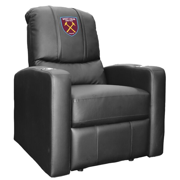 West Ham United Crest Logo Stealth Manual Wall Hugger Recliner By Dreamseat