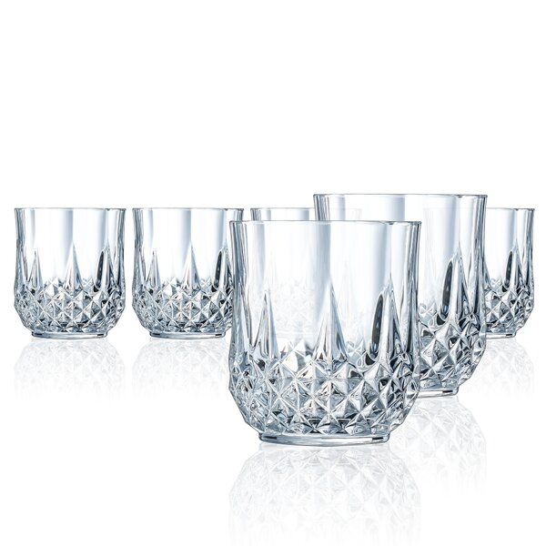 Pospisil 10.75 oz. Crystal Highball Glasses (Set of 6) by Astoria Grand
