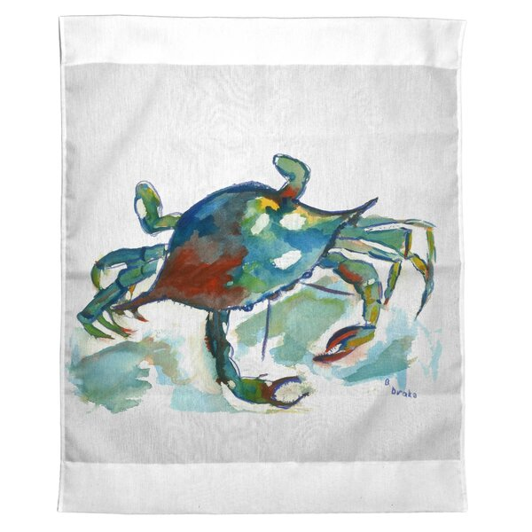 Liesl Crab Outdoor Wall Hanging by Highland Dunes