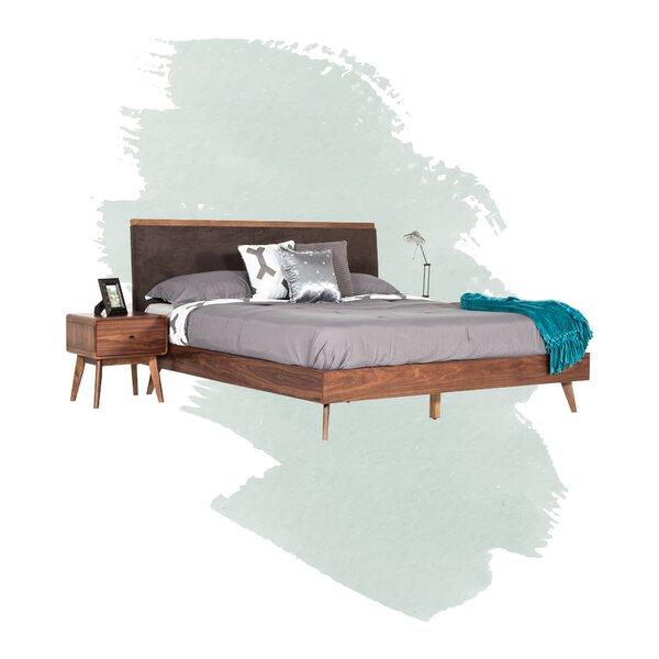 Rodney Upholstered Platform Bed by Foundstone