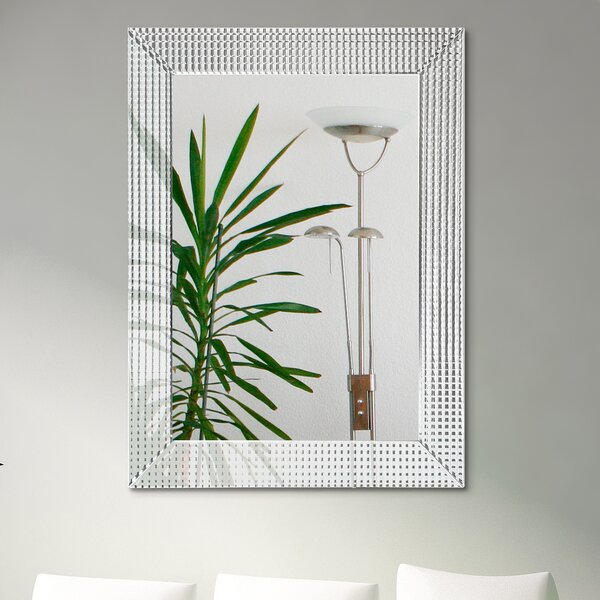 Barratt Beveled Glass Accent Mirror by Orren Ellis