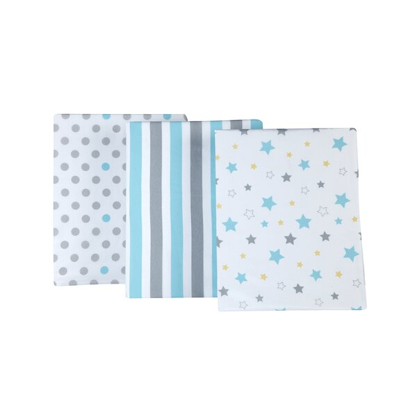 Redford Twinkle Fitted Crib Sheets (Set of 3) by Harriet Bee