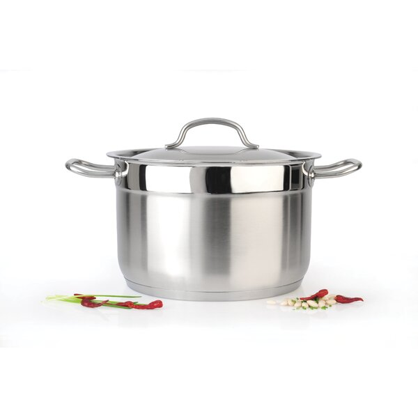 Hotel Line 7-qt. Stock Pot with Lid by BergHOFF International