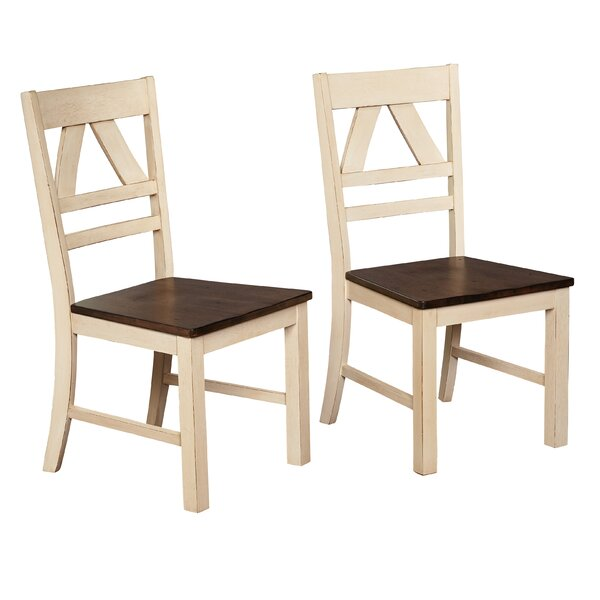 Halle 5 Piece Solid Wood Dining Set by Ophelia & Co.