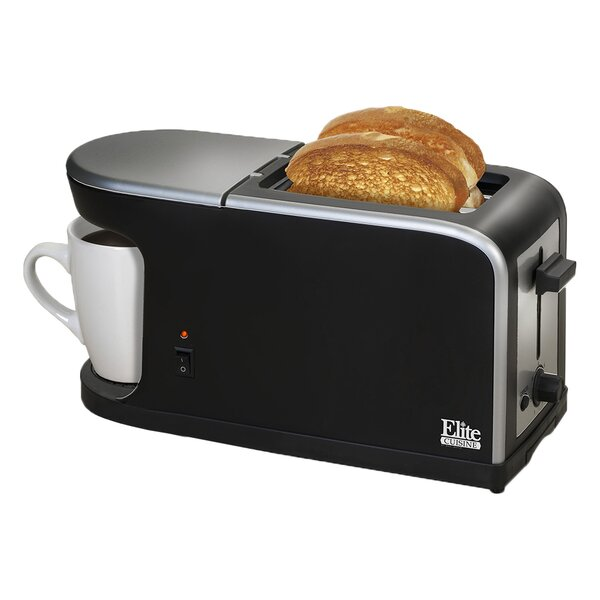 Cuisine 2-in-1 Dual Function Breakfast Station by Elite by Maxi-Matic