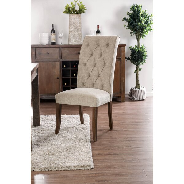 Makaila Upholstered Dining Chair (Set of 2) by Gracie Oaks