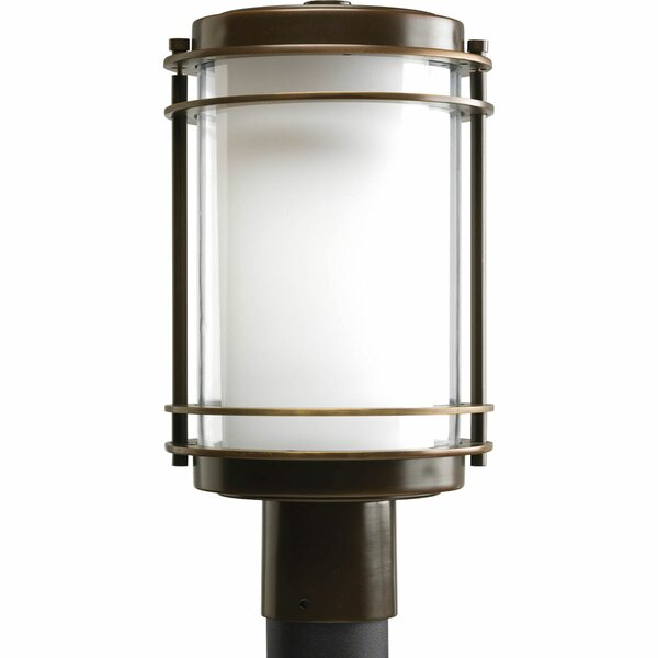 Triplehorn 1-Light Lantern Head in Outer Clear Glass by Alcott Hill