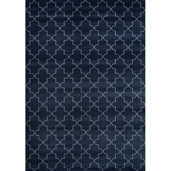 Farnborough Navy Area Rug by Darby Home Co