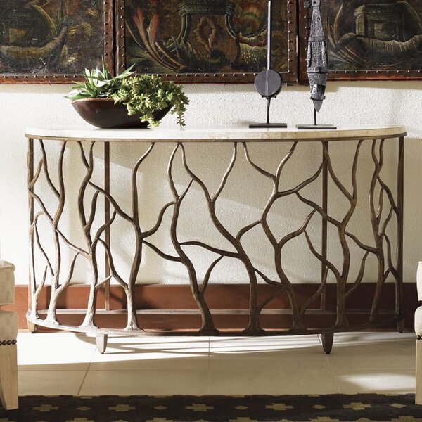 Road to Canberra Bannister Garden Console Table by Tommy Bahama Home Tommy Bahama Home