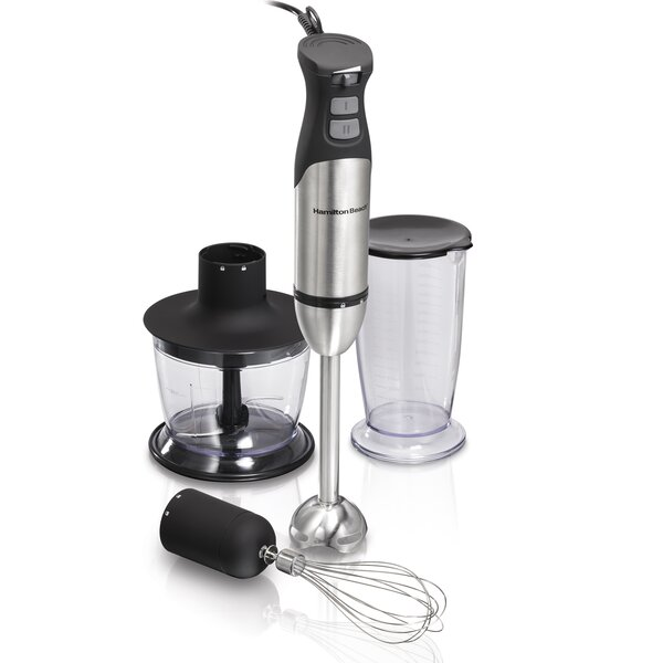 Variable Speed Hand Blender with Turbo Boost Power by Hamilton Beach