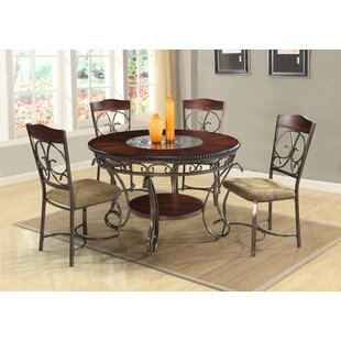 Reviews Mayflower 5 Piece Dining Set by Astoria Grand