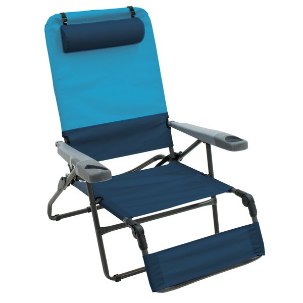 Eastham 4-Position Reclining Beach Chair By Freeport Park